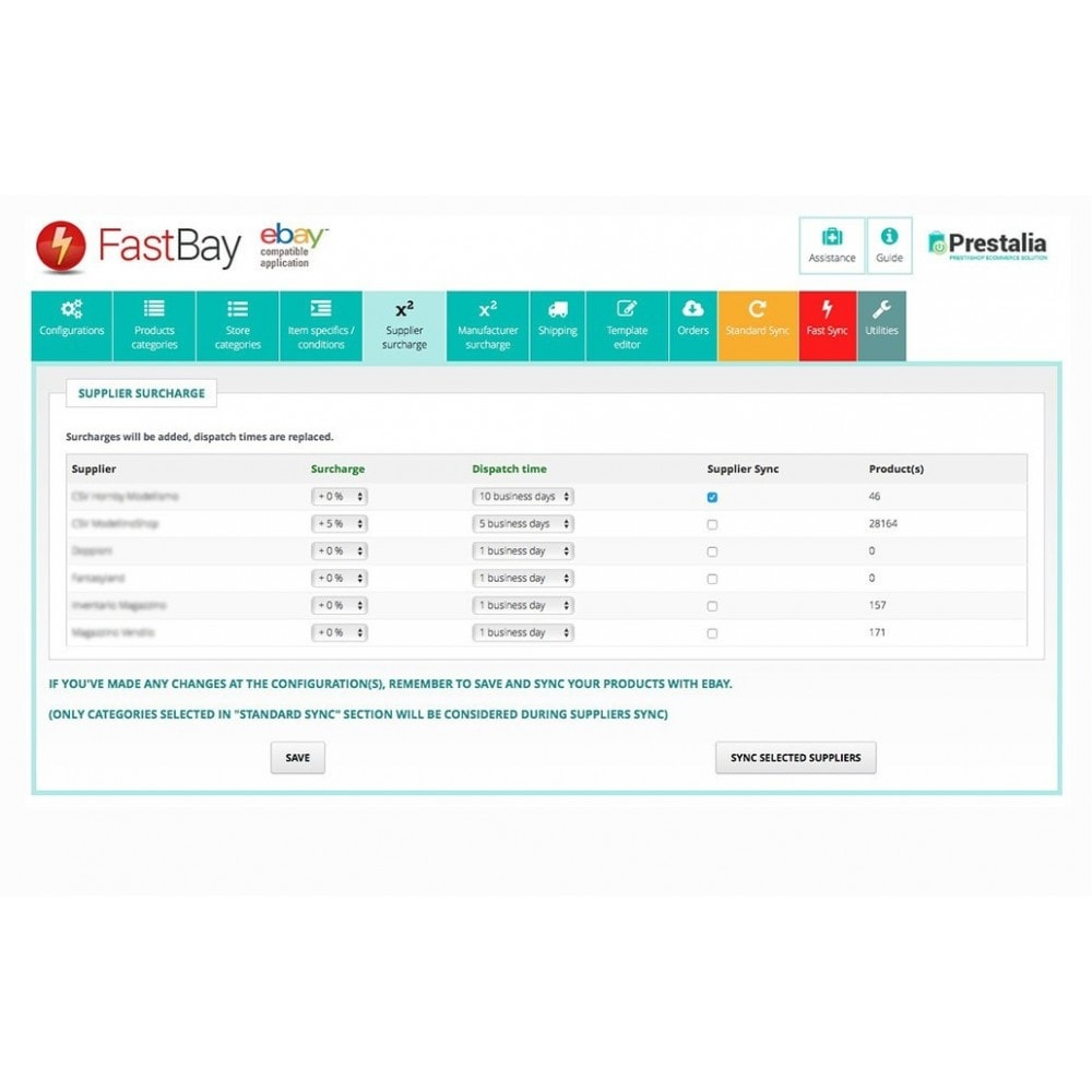module - Marktplaats (marketplaces) - FastBay - eBay Marketplace synchronization - 6