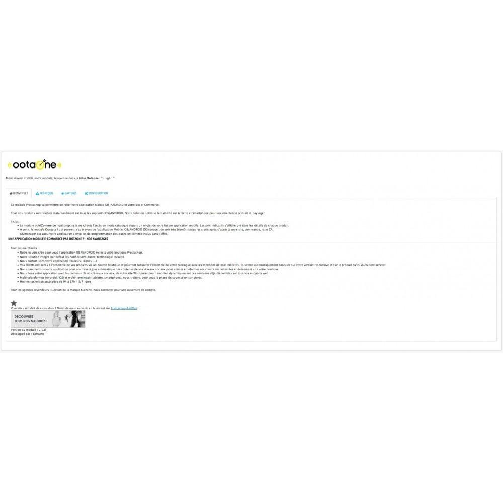 module - Mobile - OOtaone relie votre site avec une Apps IOS/ANDROID - 1