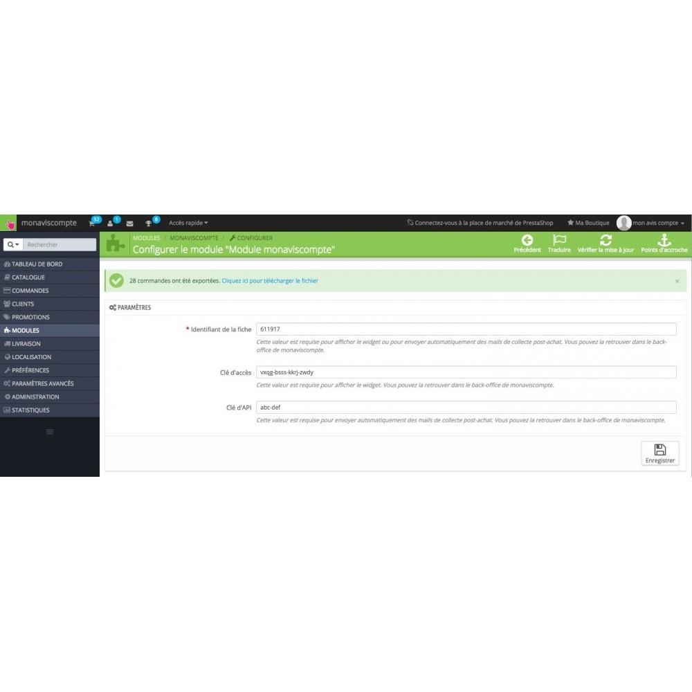 module - Recensioni clienti - Monaviscompte/testntrust - 3