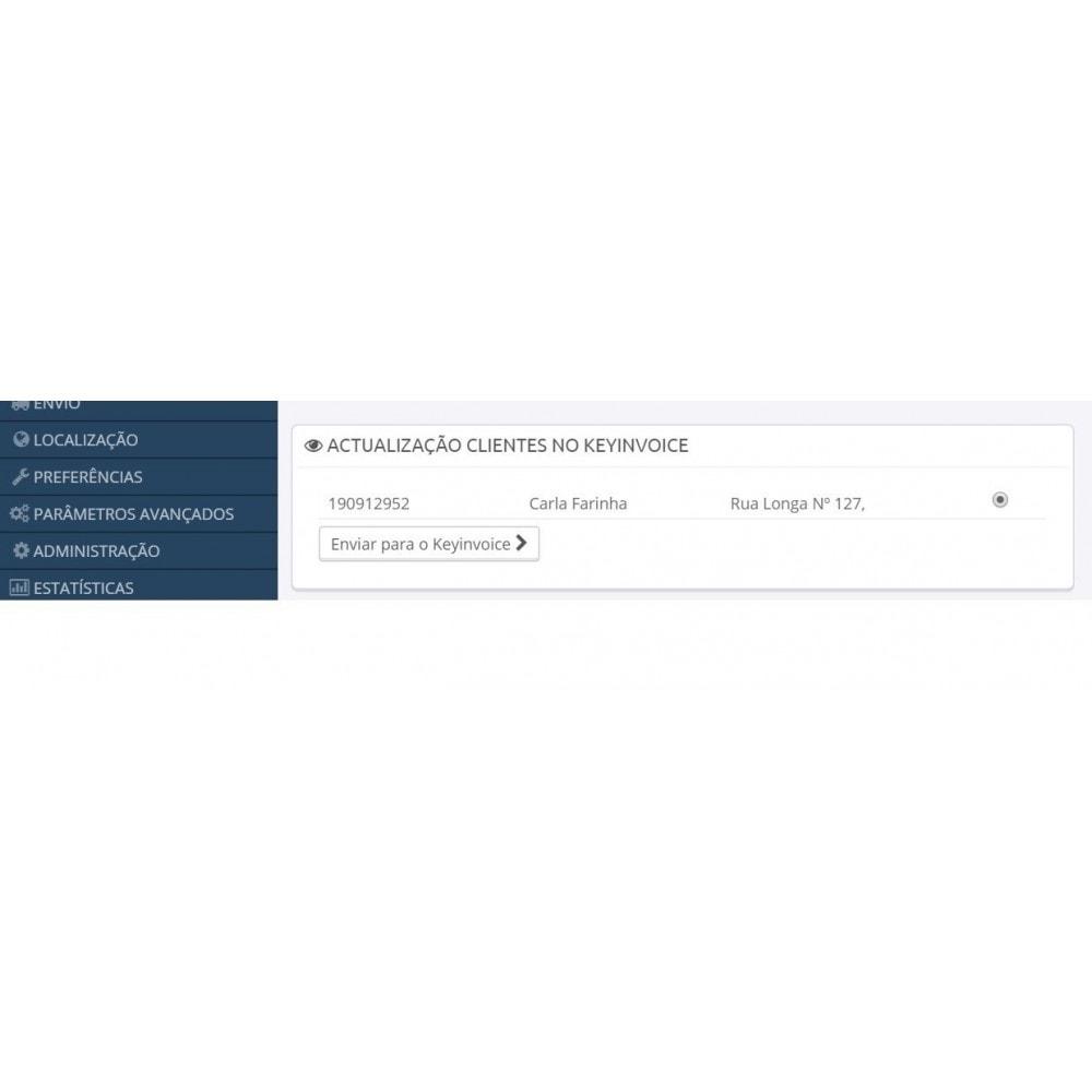 module - Contabilidade & Cobrança - Keyinvoice Connector - 1