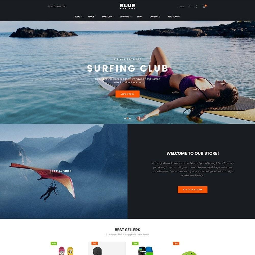 theme - Sport, Loisirs & Voyage - BlueSport - 2