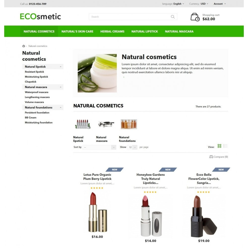 theme - Salute & Bellezza - ECOsmetic - 5