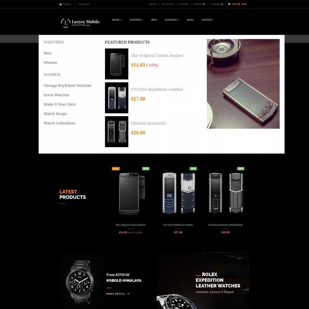 theme - Electronique & High Tech - Ap Luxury Mobile Responsive - 4