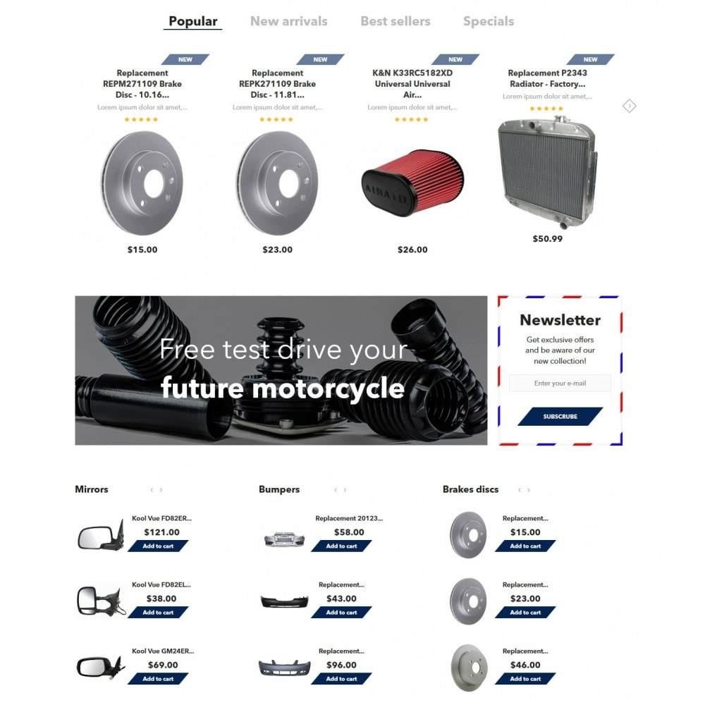 theme - Carros & Motos - AutoParts - 3