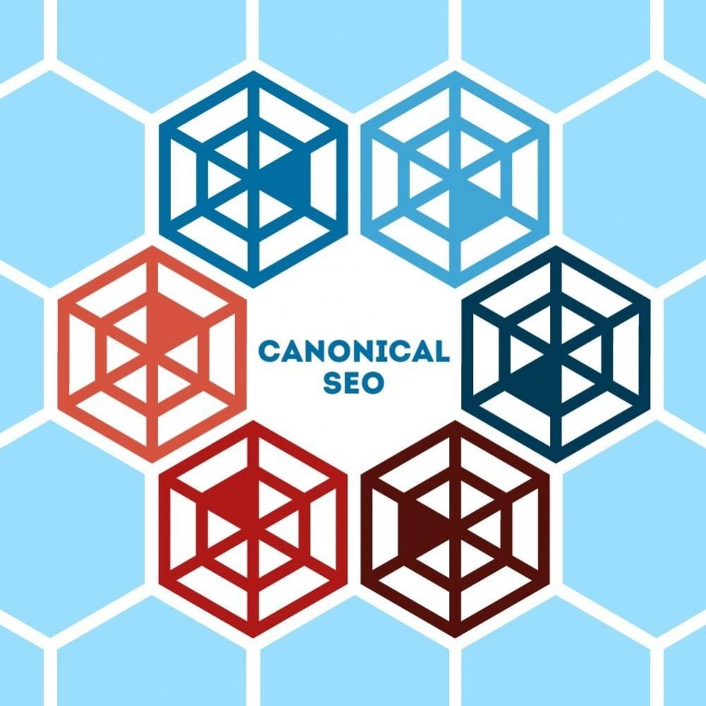 module - URL & Redirections - Canonical SEO - 1