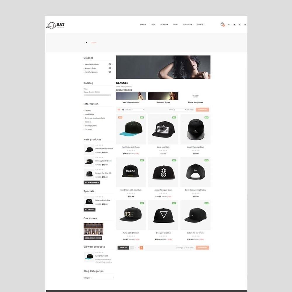 theme - Fashion & Shoes - Leo Hat - 2