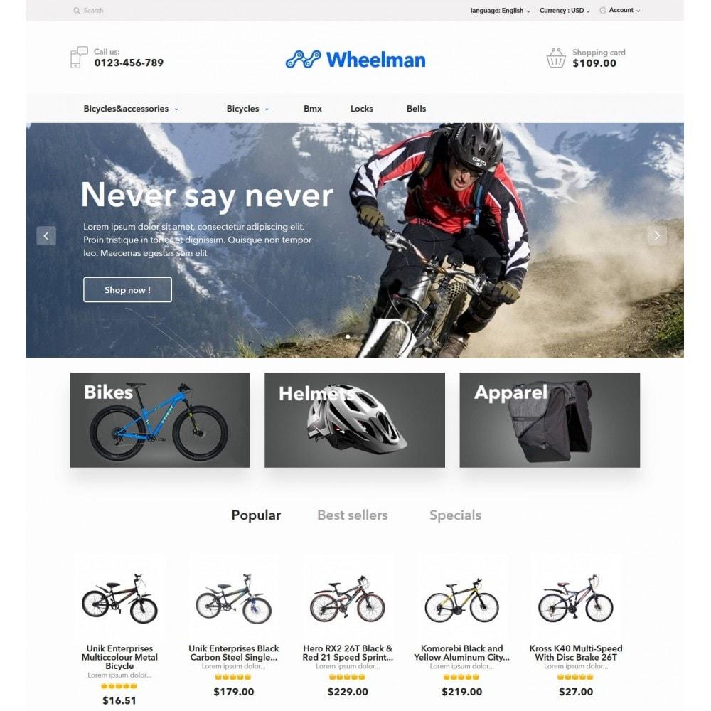 theme - Sport, Loisirs & Voyage - WheelMan Bike Store - 2