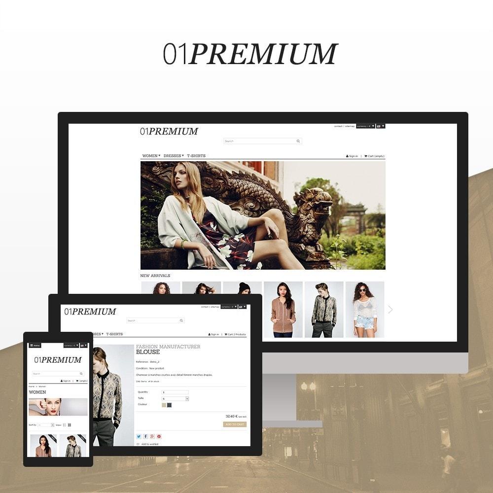 theme - Мода и обувь - 01 Premium - 1
