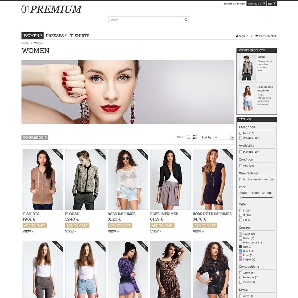 theme - Мода и обувь - 01 Premium - 5