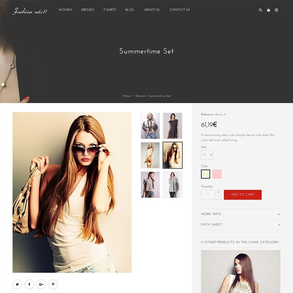 theme - Mode & Chaussures - mlc11 - A New Clothing and Fashion e-Commerce - 7