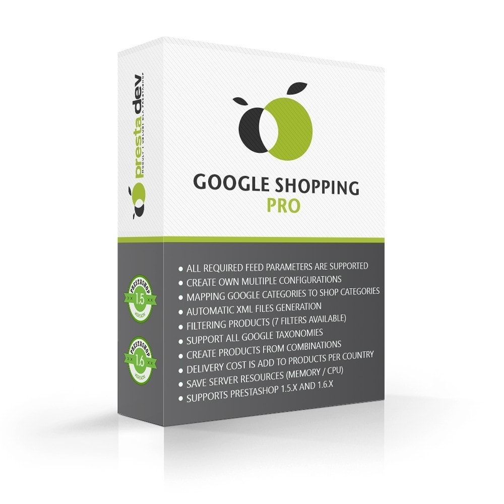 module - Marketplace - Google Shopping Pro Advanced Edition - 1