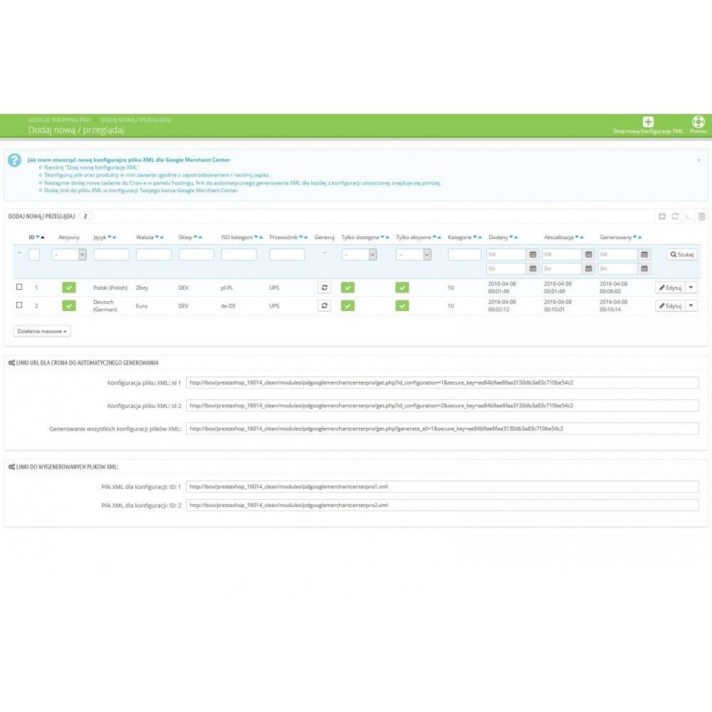 module - Platforma handlowa (marketplace) - Google Shopping Pro Advanced Edition - 6