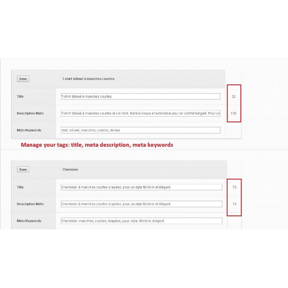 module - Естественная поисковая оптимизация - META TAGS EDITOR - 2