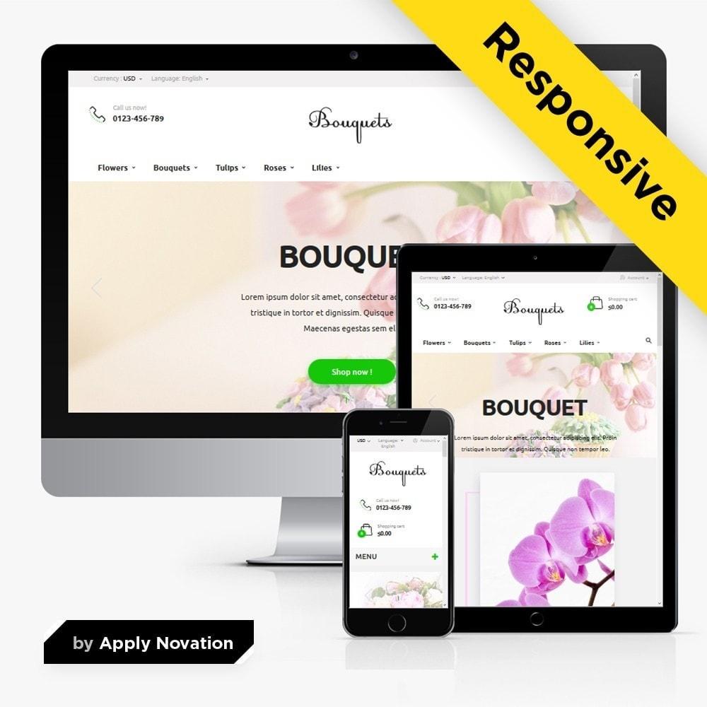 theme - Regalos, Flores y Celebraciones - Bouquets Flower Shop - 1