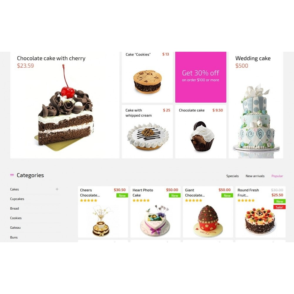 theme - Eten & Restaurant - Bakery House Sweet Shop - 3