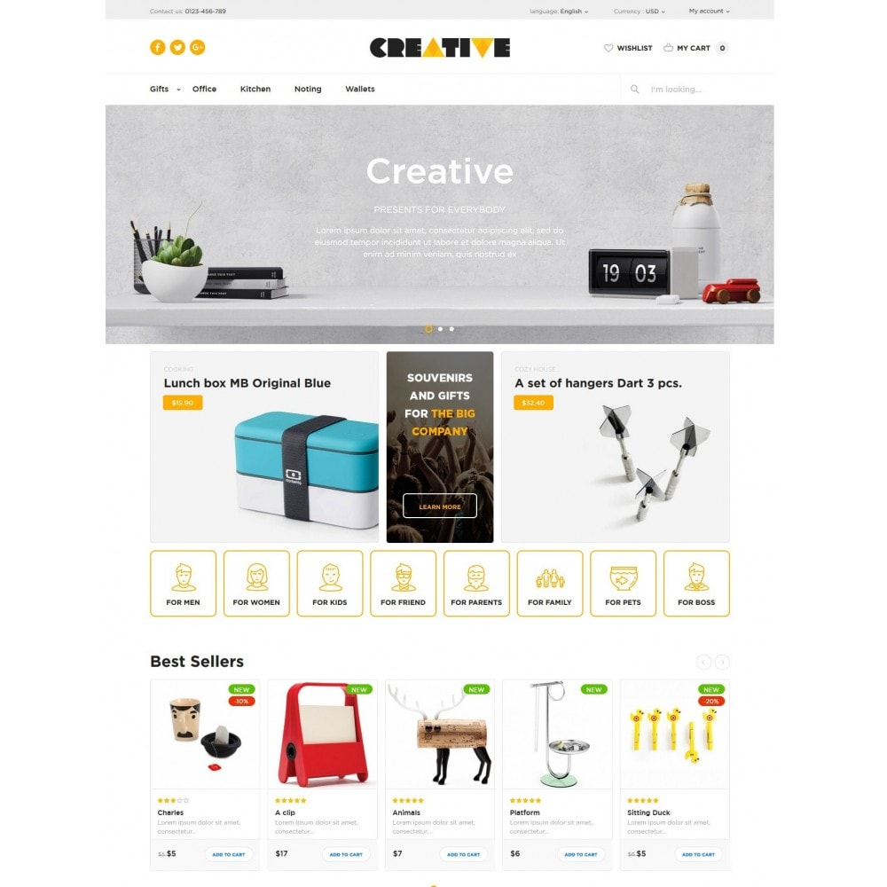 theme - Gifts, Flowers & Celebrations - Creative Store - 2