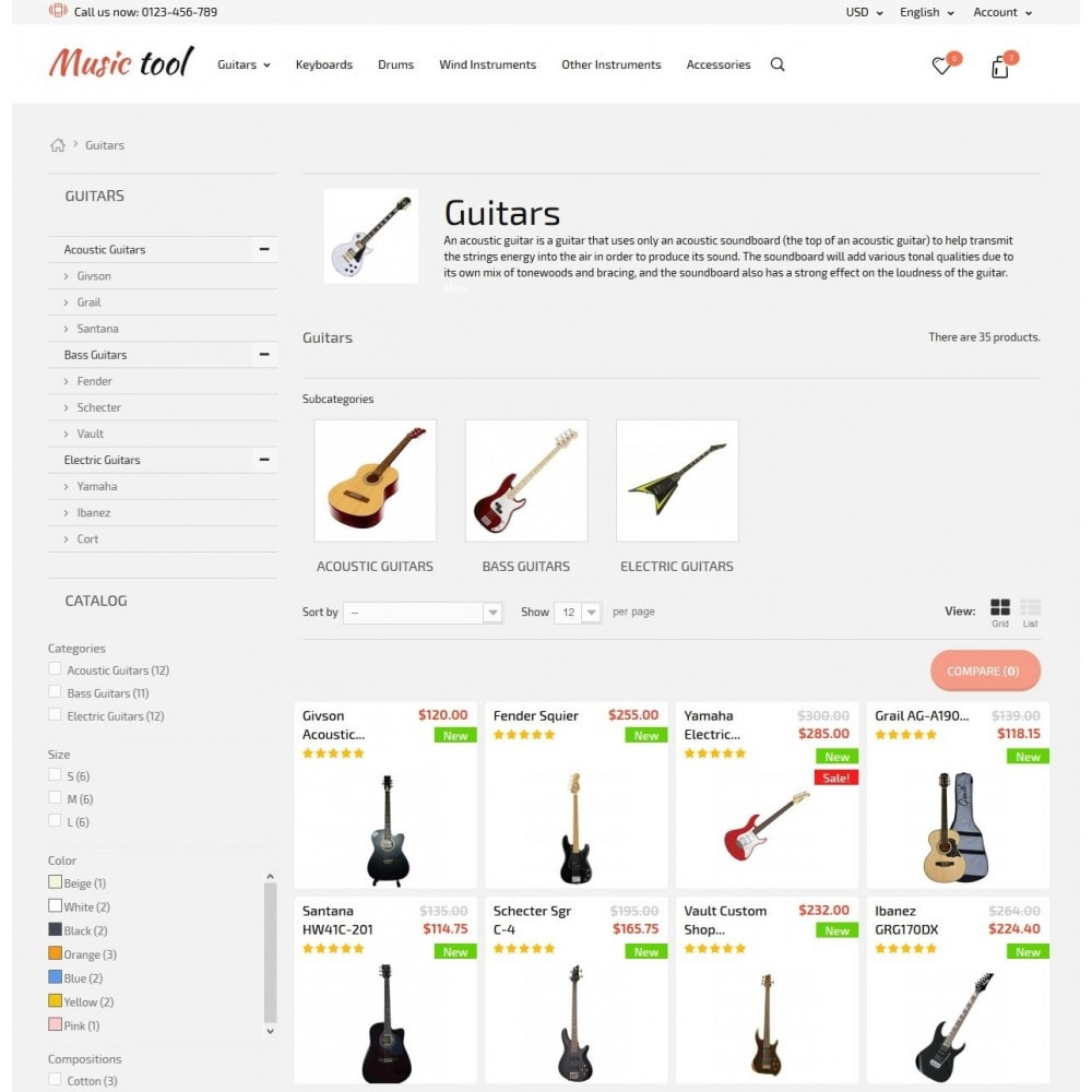 theme - Art & Culture - Music Tool - 6