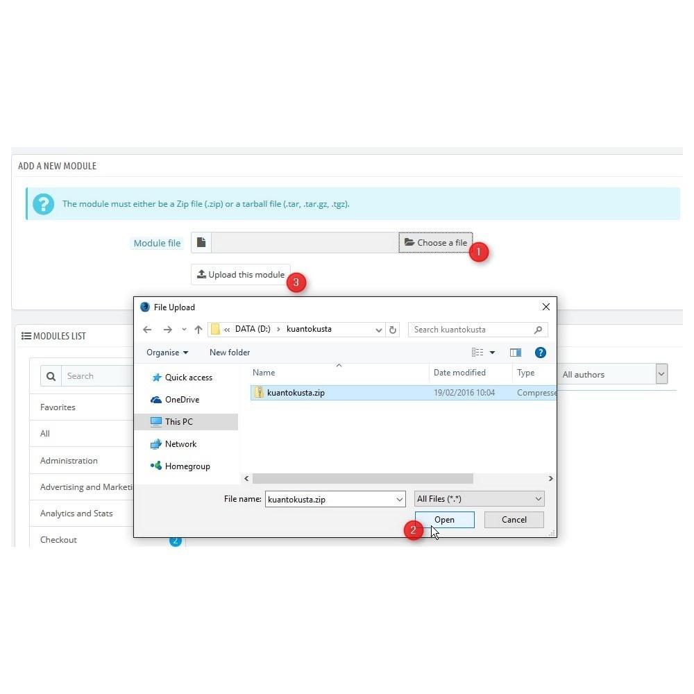 module - Prijsvergelijkers - Kuantokusta API - 2