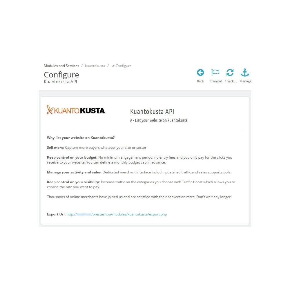 module - Price Comparison - Kuantokusta API - 4