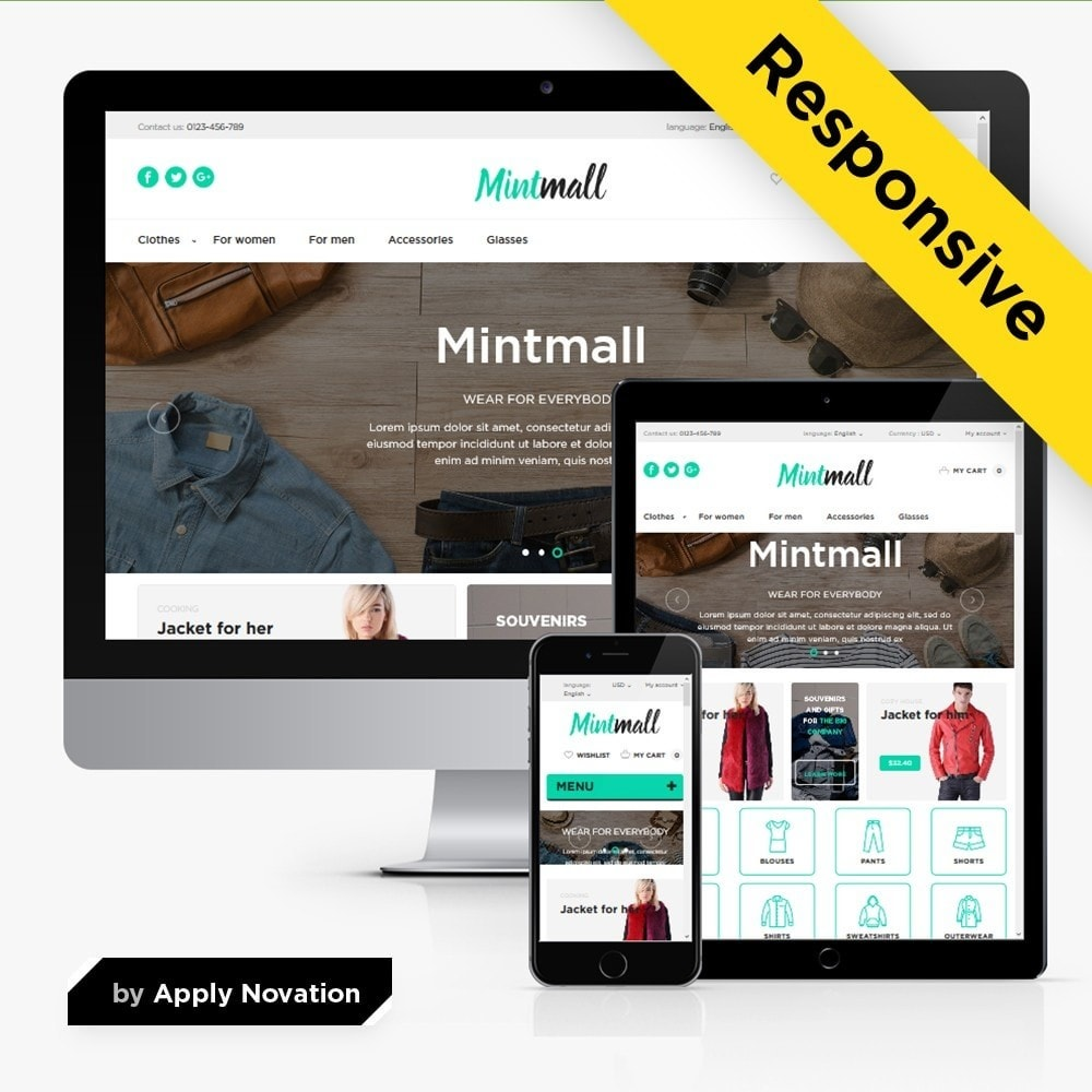 theme - Мода и обувь - Mintmall Fashion - 1