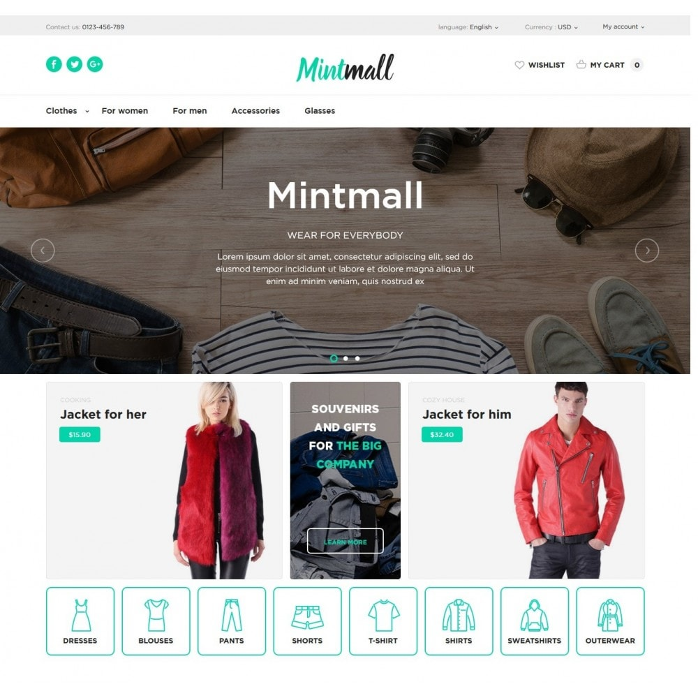 theme - Мода и обувь - Mintmall Fashion - 2