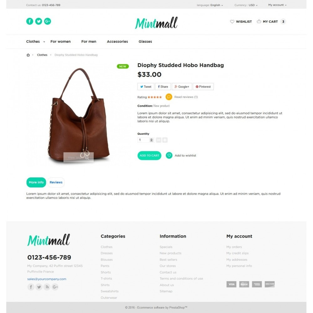 theme - Мода и обувь - Mintmall Fashion - 7