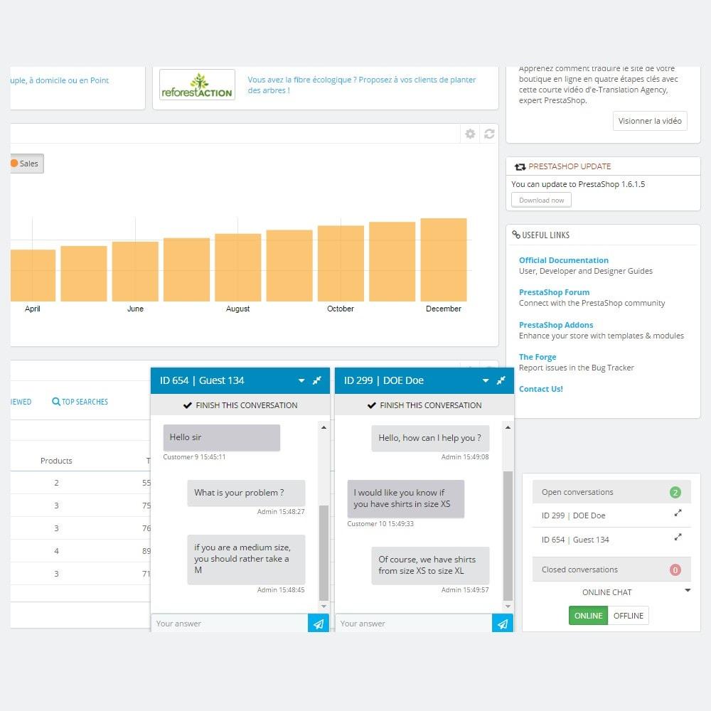 module - Wsparcie & Czat online - Online Chat - 6