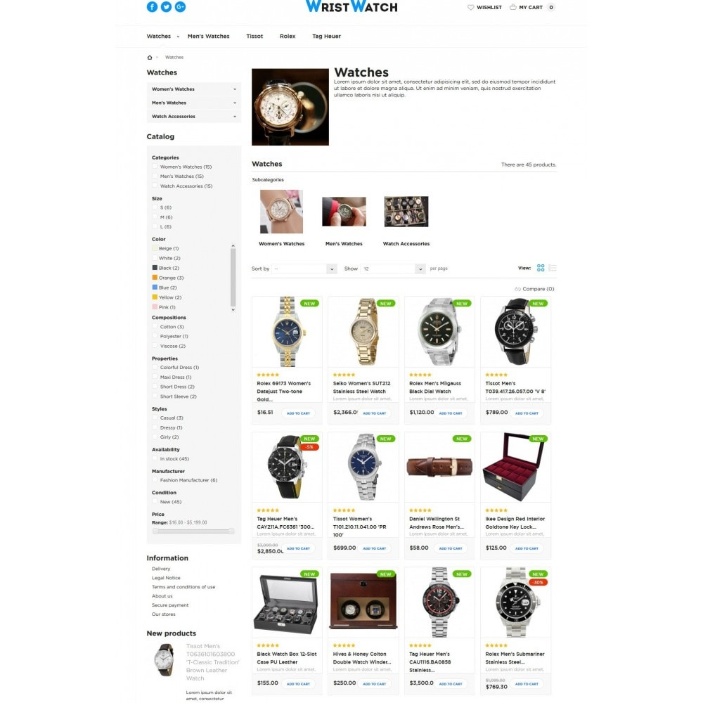 theme - Bijoux & Accessoires - Wrist Watch - 5