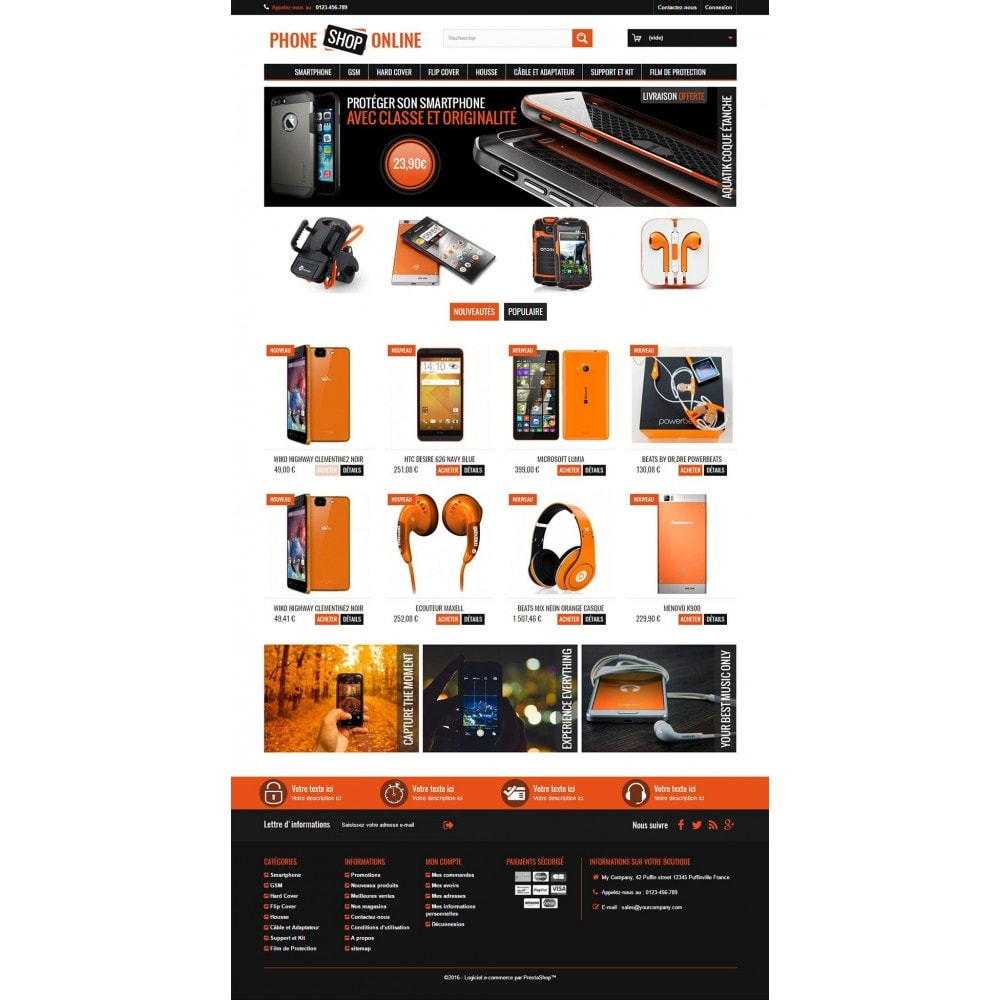 theme - Electronics & Computers - Phone Shop Online - 2