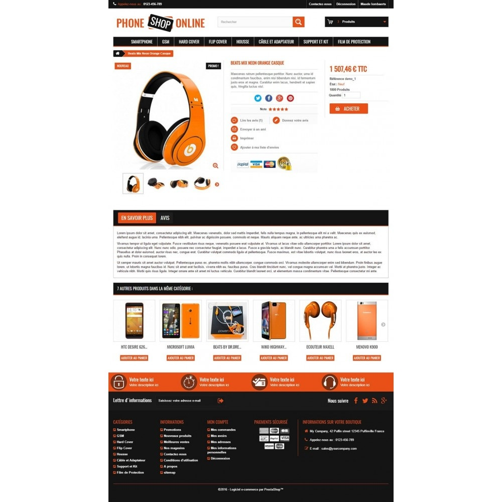 theme - Eletrônicos & High Tech - Phone Shop Online - 3