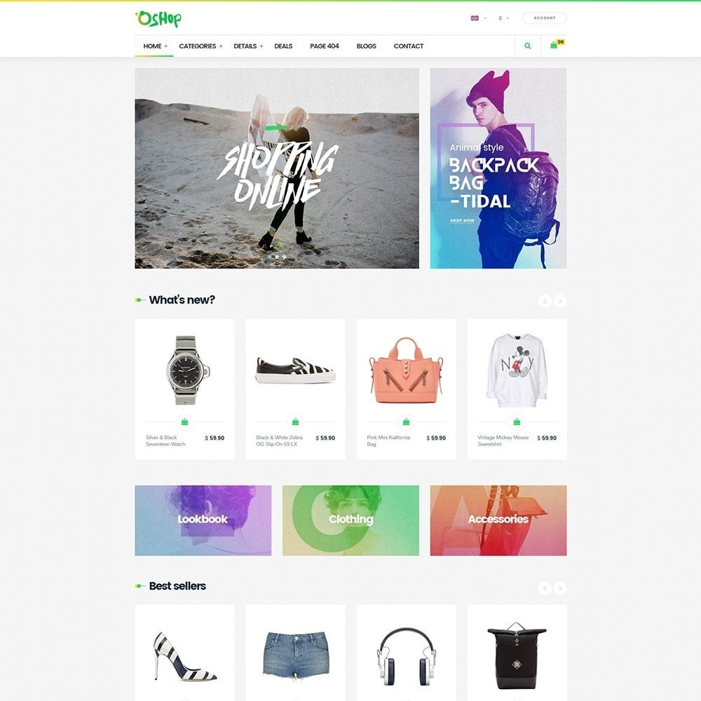 theme - Fashion & Shoes - Oshop - 4