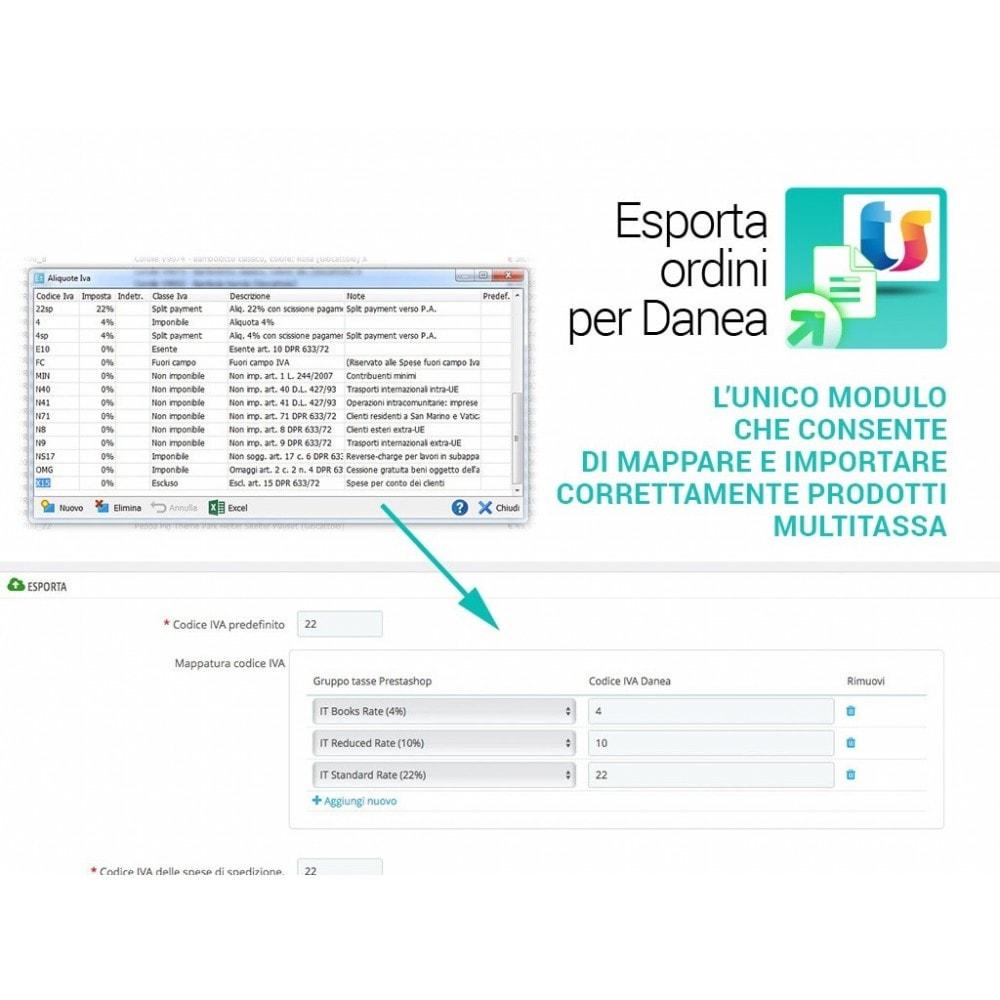 module - Integrazione (CRM, ERP...) - Esporta ordini e clienti per Danea EasyFatt - 3