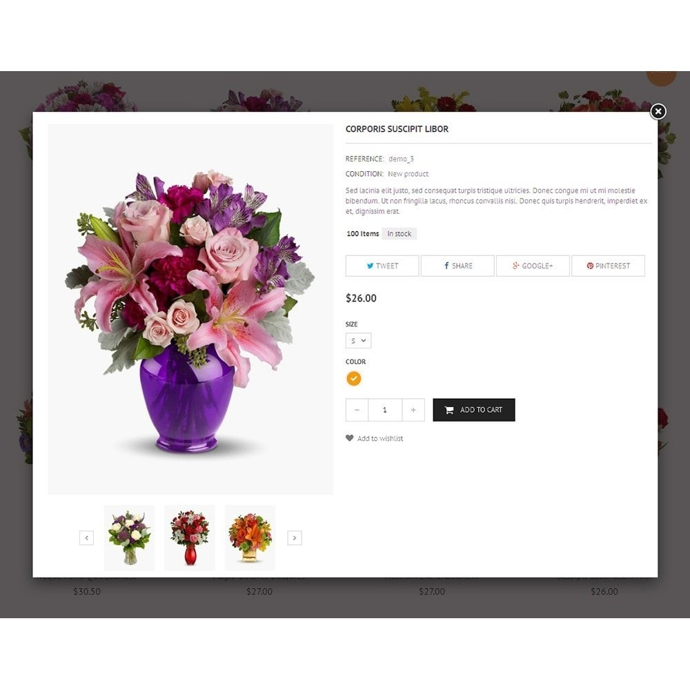 theme - Gifts, Flowers & Celebrations - Flower Store - 8