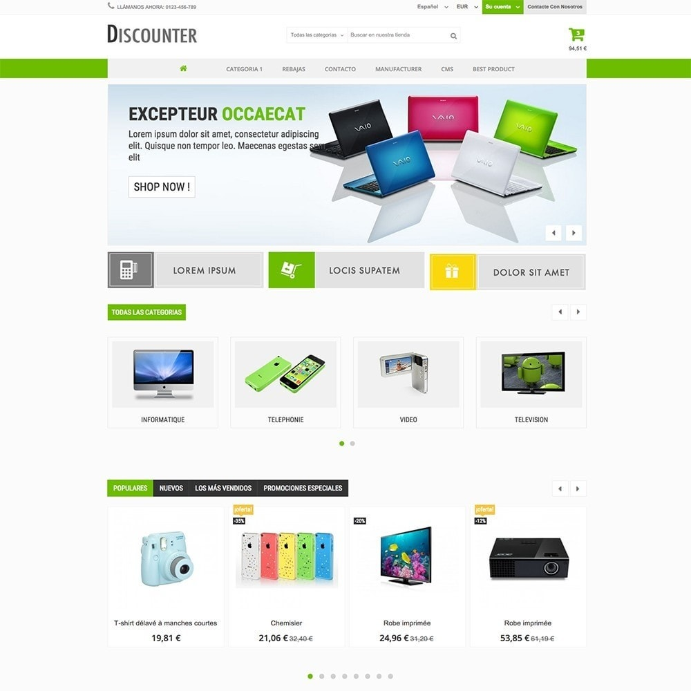 theme - Elettronica & High Tech - DISCOUNTER - 2