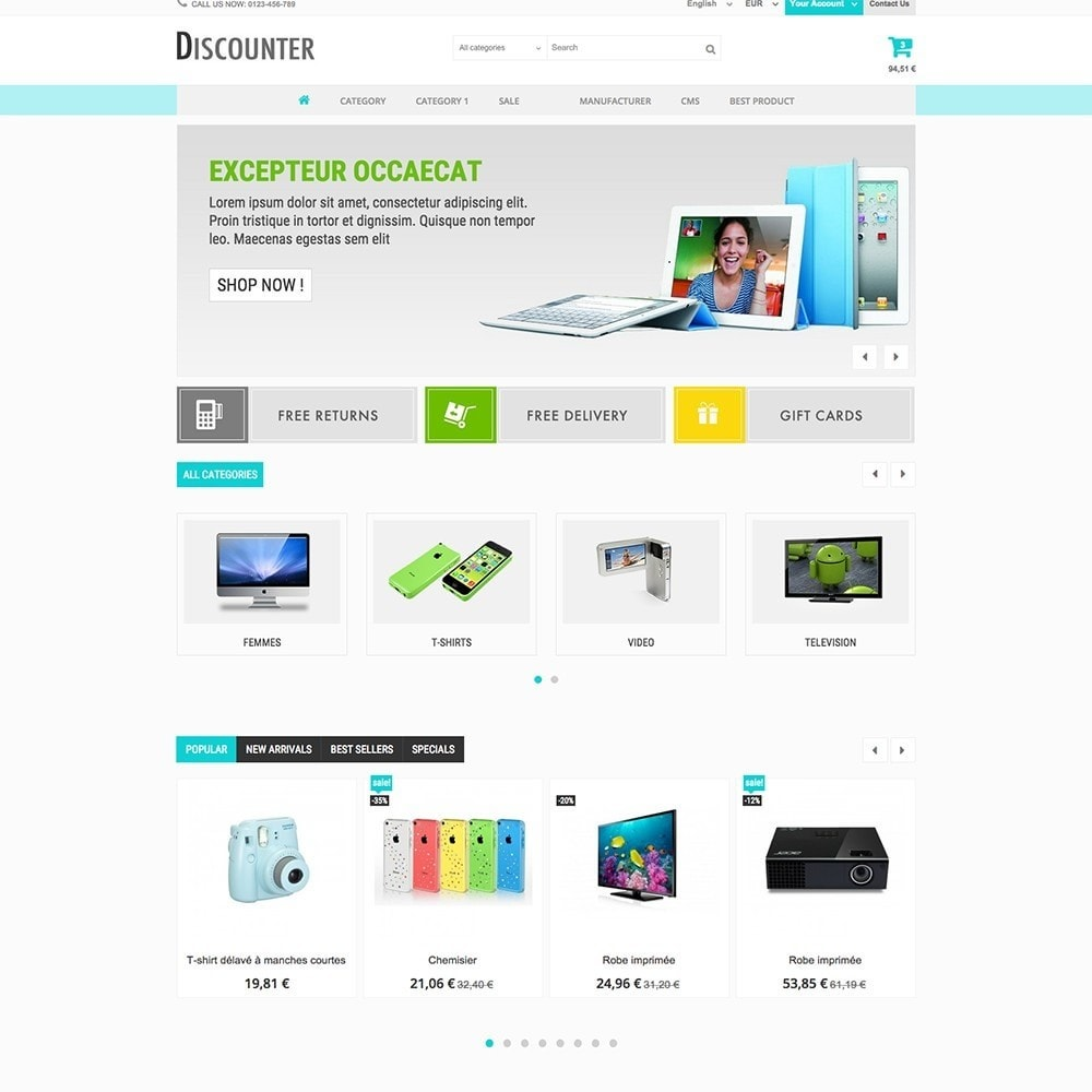 theme - Elettronica & High Tech - DISCOUNTER - 3