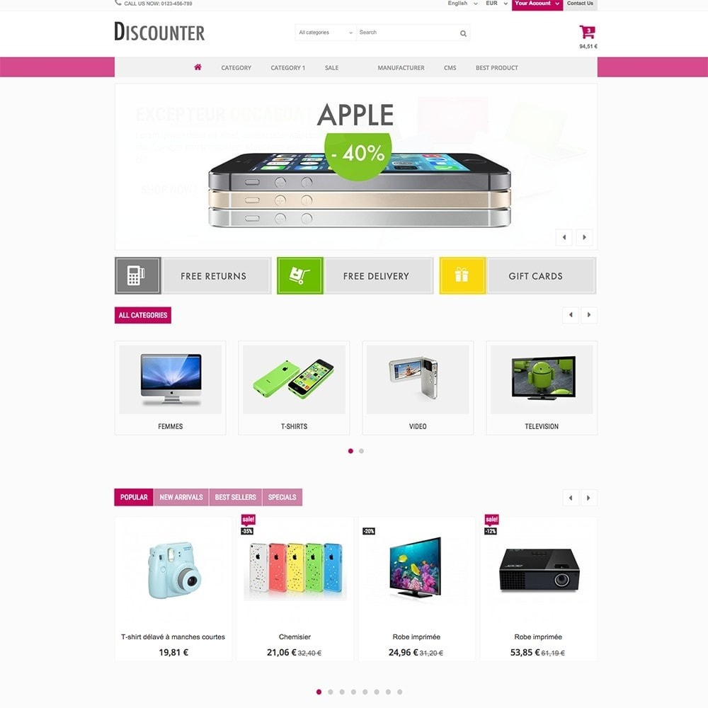 theme - Elettronica & High Tech - DISCOUNTER - 7