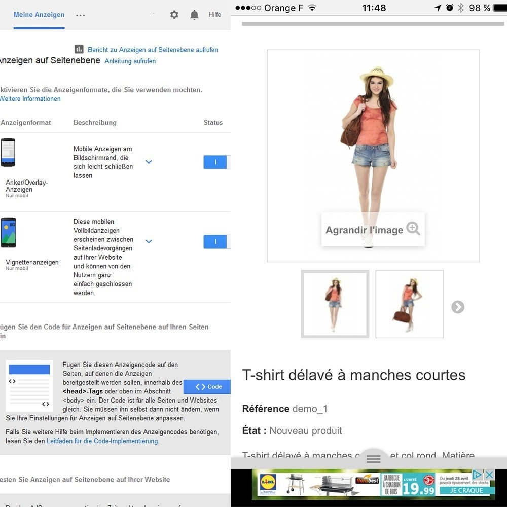 module - SEA SEM (Bezahlte Werbung) & Affiliate Plattformen - Google Adsense - 5