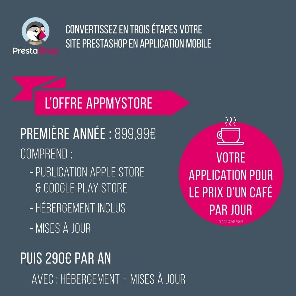 module - Mobile - AppMyStore convertissez votre boutique en appli mobile - 1