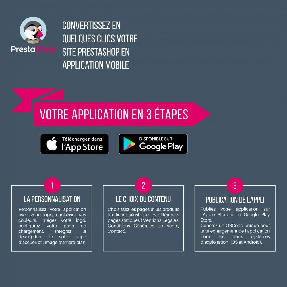 module - Mobile - AppMyStore convertissez votre boutique en appli mobile - 2
