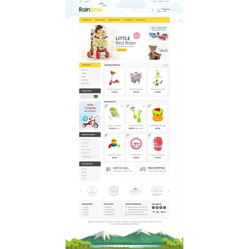 theme - Дети и Игрушки - Rainbow Store - 2