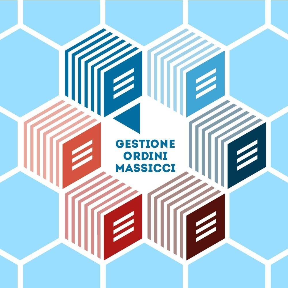 module - Gestione Ordini - Gestione Ordini Massive - 1