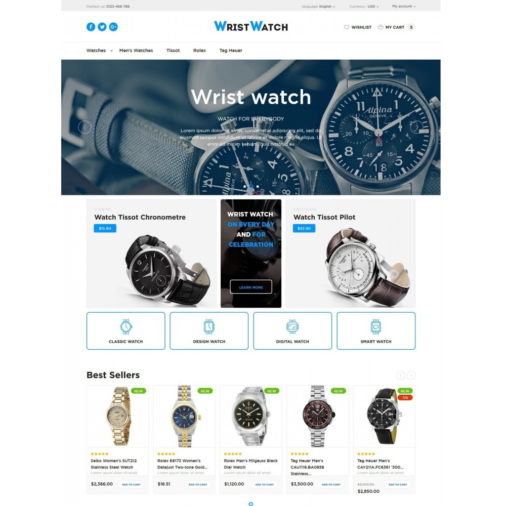 theme - Bijoux & Accessoires - Wrist Watch - 2