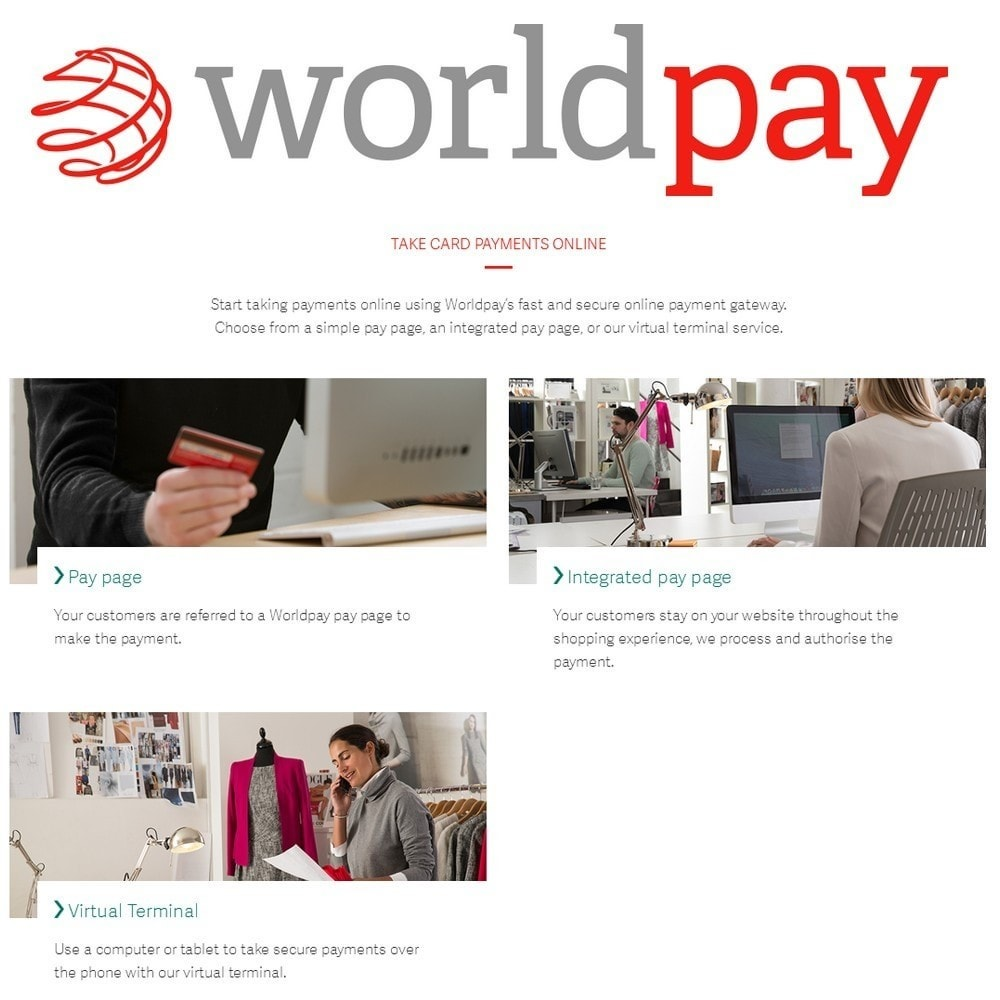 module - Paiement par Carte ou Wallet - Worldpay US Payments - 2