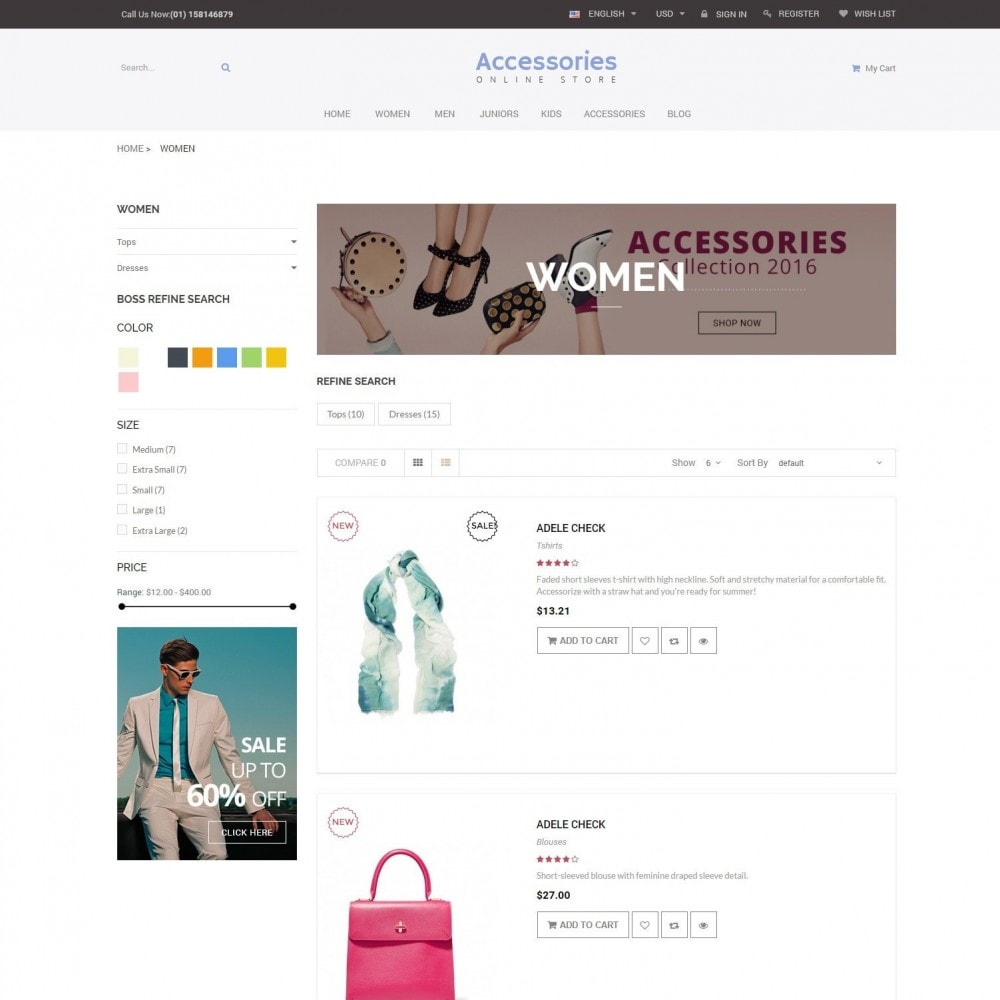 theme - Mode & Schuhe - Accessories - Shoes Clothing Store - 4