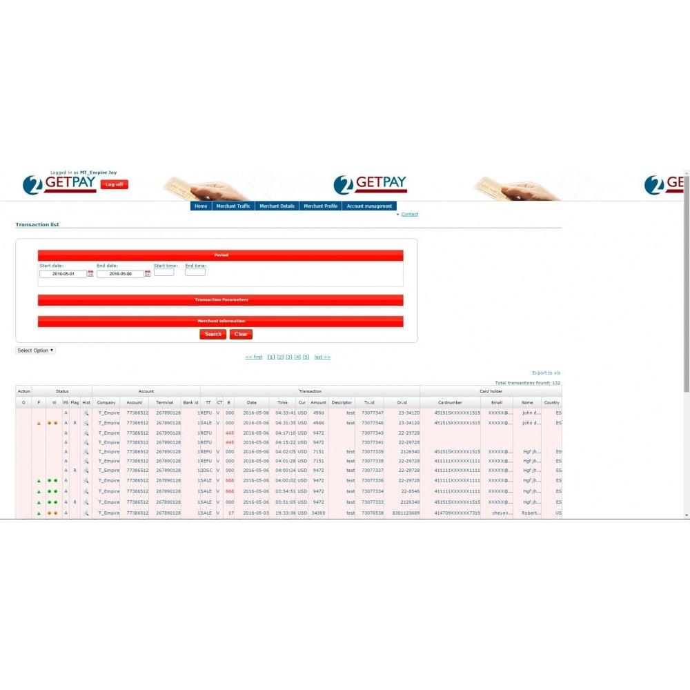 module - Pago con Tarjeta o Carteras digitales - 2getpay pasarela de pago & tarjetas de crédito - 3