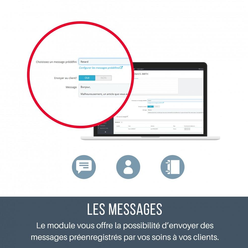 module - Service Client - SAV - Contacter vos clients depuis leur fiche - 3