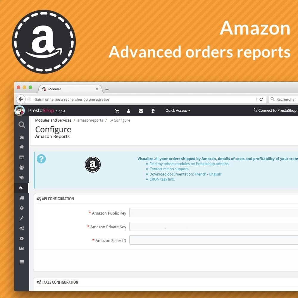 module - Orderbeheer - Amazon Reports - 2