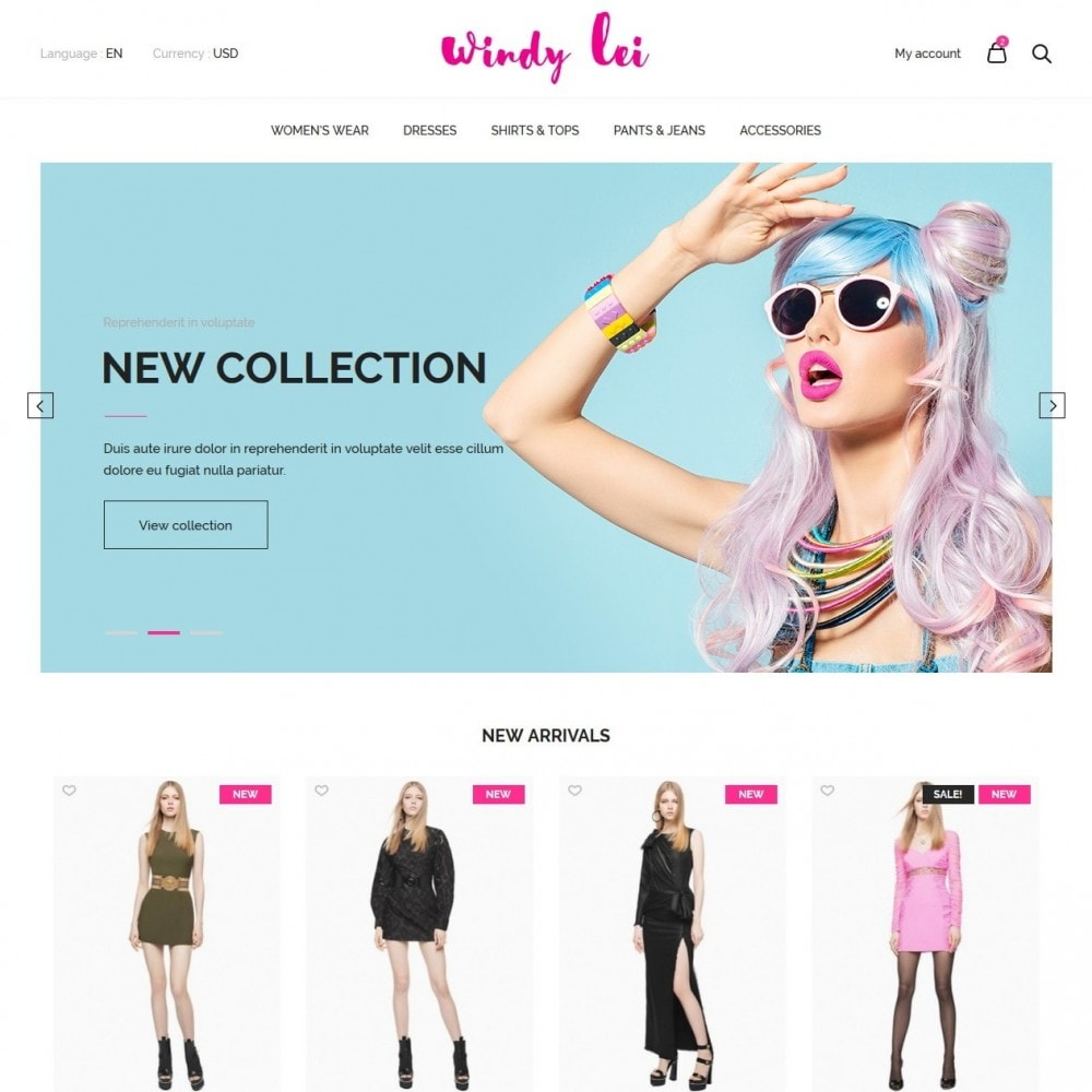theme - Moda & Calzature - Windy lei Women's Clothing - 2