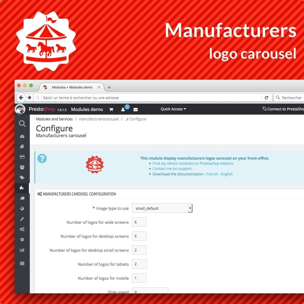 module - Marcas y Fabricantes - Manufacturer carousel - 3