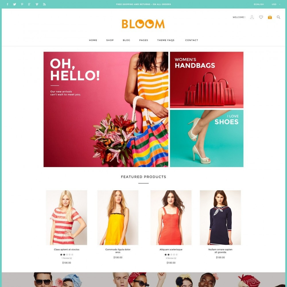 theme - Fashion & Shoes - Bloom | Clothing Fashion Store - 2